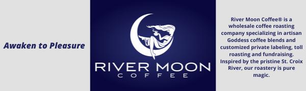 River Moon Coffee organic decaf coffee beans ground whole bean non-gmo bulk 2 lbs gourmet premium
