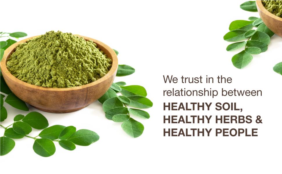 Healthy Soil,Healthy Herbs, Healthy People