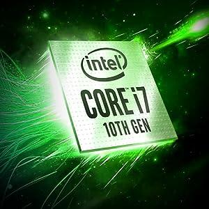 8 core / 16 thread Intel Core i7-10875H