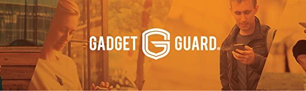 gadget guard phone screen protection brand logo
