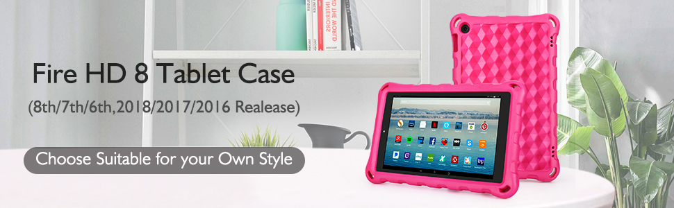 amazon kindle fire HD 8 tablet case