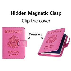 passport cover for women men