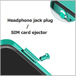 headphone jack dust plug