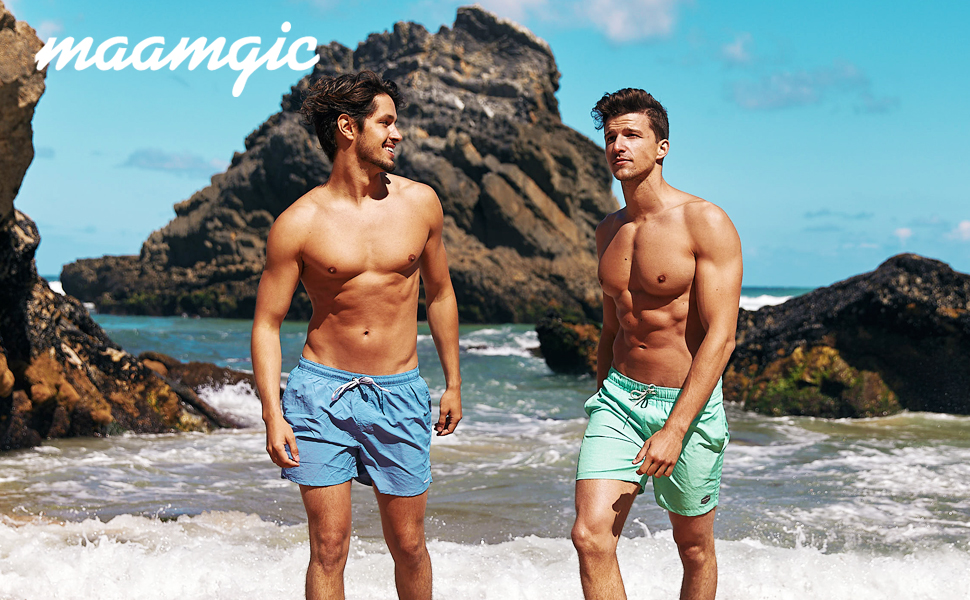 US SHIP Men/'s Swimming Swim Middle Trunk Swimwear Fifth Pants Summer Beach Knee