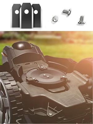 Cuchillas Automower en Titanio