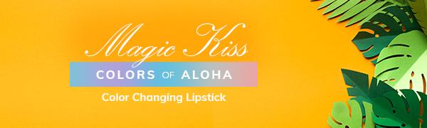 Magic Kiss, Color changing lipstick, Green Lipstick, Color change lip balm, Mood Lipstick, Lipstick