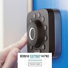 keyless entry door lock fingerprint lock