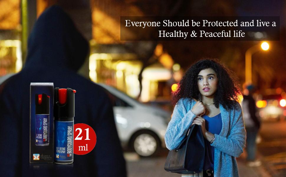 powerful bodyguard pepper spray for women