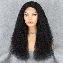 Curly Human Hair Lace Front Wigs for balck women