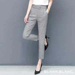 High waist and ankle length for a beautiful silhouette. You can expect a clean and stylish look.