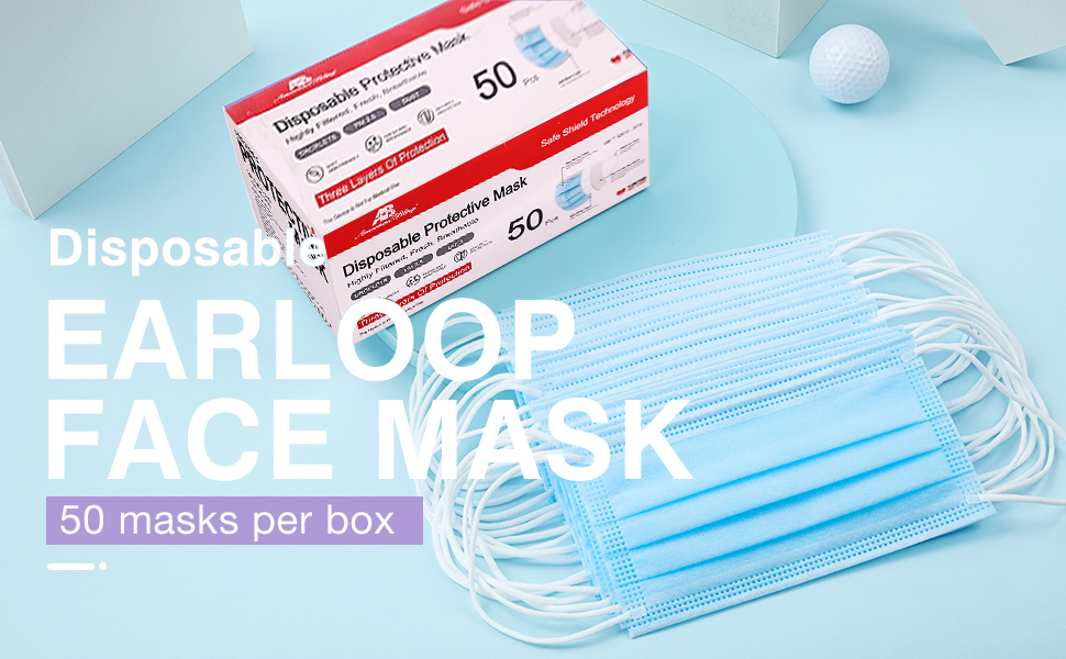 face masks for ppe mask disposable made in usa with