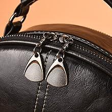 High quality double zipper design