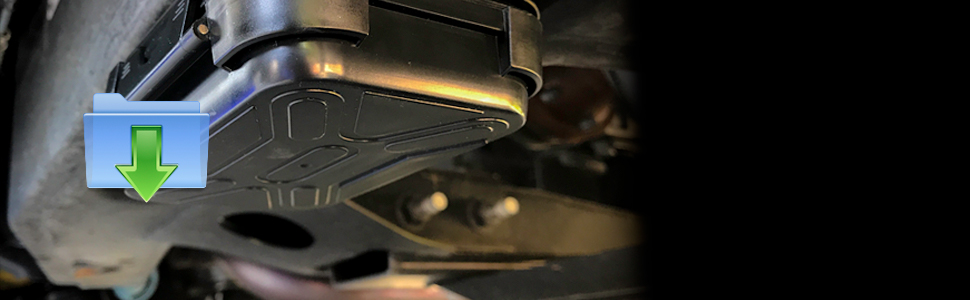 MiniMag Plus Magnetic Stash Box Mounted Underneath a Car