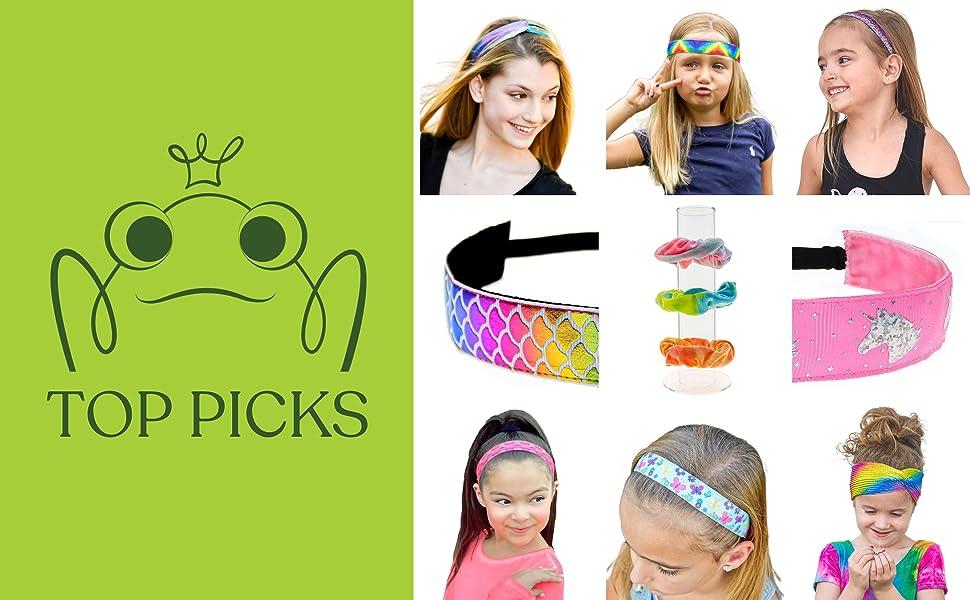 no slip headbands for girls headband hair accessories party favors