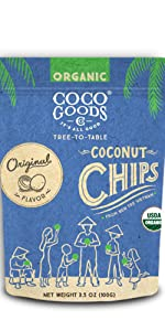 Organic Toasted Coconut Chips Original