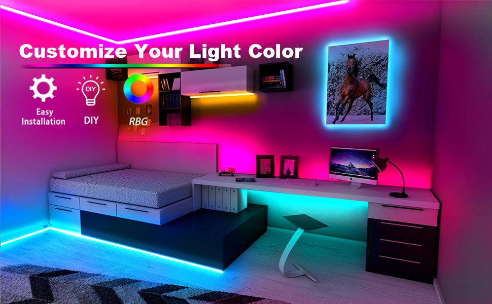 LED LIGHTS BLUETOOTH 50FT