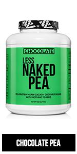chocolate pea protein powder, 5lb chocolate pea protein powder, flavored pea protein powder