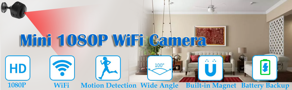 ifitech security camera, hidden camera, spy camera, home security camera, cctv camera