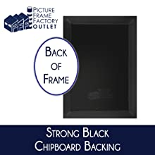 Strong Black Chipboard Backing