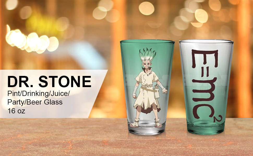 Stone Beer Glass