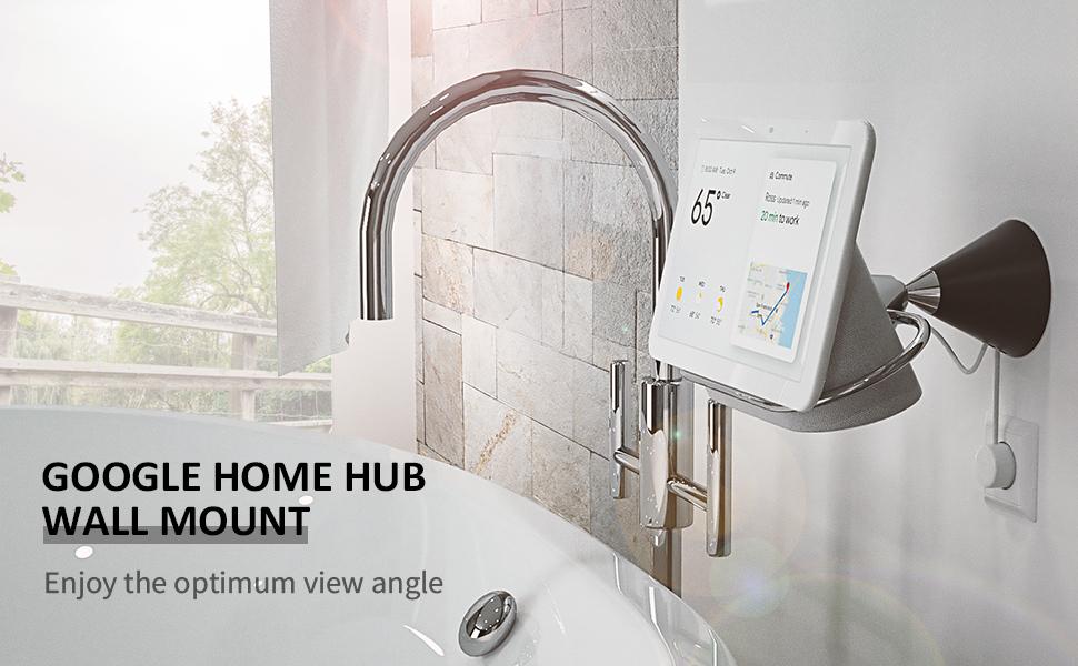 Google Home Hub wall mount