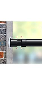 room divider rod