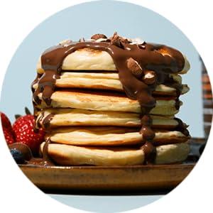 foodspring Tortitas Proteicas, 320g, 6 veces más proteína que las normales