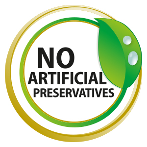 No Artificial Preservatives