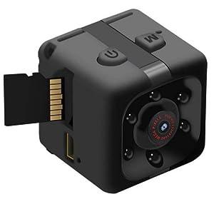 Mini Spy Camera by CFU - Wireless 1080P Hidden Camera - Portable Small HD Nanny Cam Night Vision
