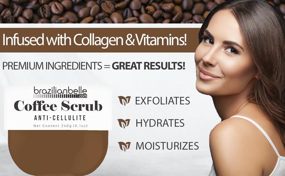 arabica coffee scrub for cellulite
