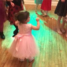Merry Day Flower Girl Dress Toddler Formal Baptism Ball Gown for 1M-10T