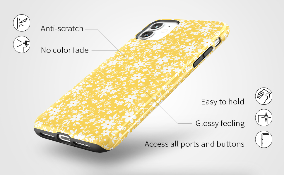 iPhone 11 case dual protection,iPhone 11 case floral,iPhone 11 case for women girls, iPhone 11 case