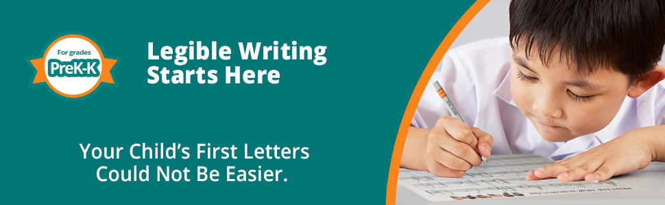 Legible writing starts here with block aided writing