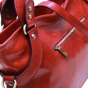 floto leather handbag