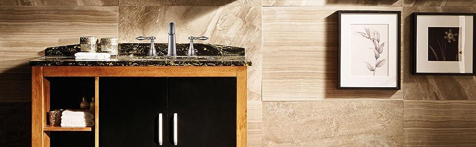 wideset bathroom faucet overview