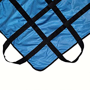 positioning bed pad with handles hospital bed transfer board