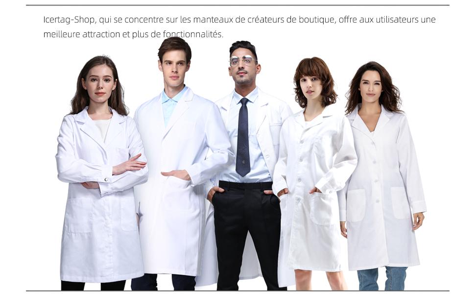 docteur manteau