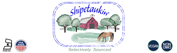 Shipetaukin selectively sourced kosher parve, usa made and grown, usda certified organic, non gmo