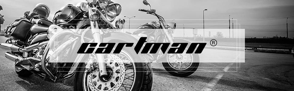 CARTMAN Motorcycle Half Face Helmet DOT Approved Bike Cruiser Chopper High Gloss Small
