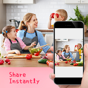 Share Memories Instantly