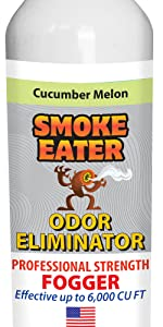 Smoke eater fogger for large areas and strong odors