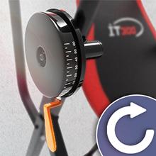 Sportstech Tabla de Inversión Plegable Multifuncional 6 en 1 | Sistema Inteligente de Palanca Giratoria | Ejercicio 360° | Incl. Correa de Seguridad | ...