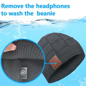 bluetooth hat for men with headphones