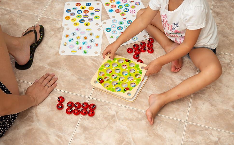 juego de memoria para niños