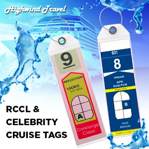 Cruise Luggage Tags cruise essentials ship accessories