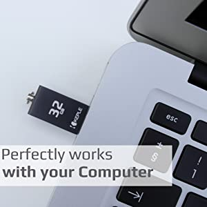 Hudl 7 inch//Hudl 2 8.3 32 GB Thumb Drive Dual Port Hudl 2 32GB USB Stick OTG to Micro USB 2 in 1 Pen Flash Drive Memory Stick 2.0 Compatible with Tesco Hudl 1