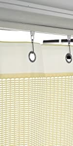 grommet clinic curtains