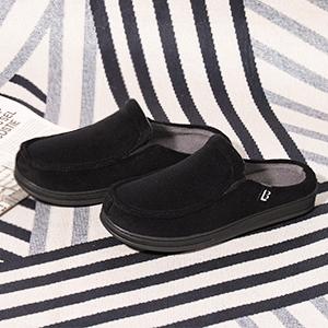 longbay men moccasin slipper