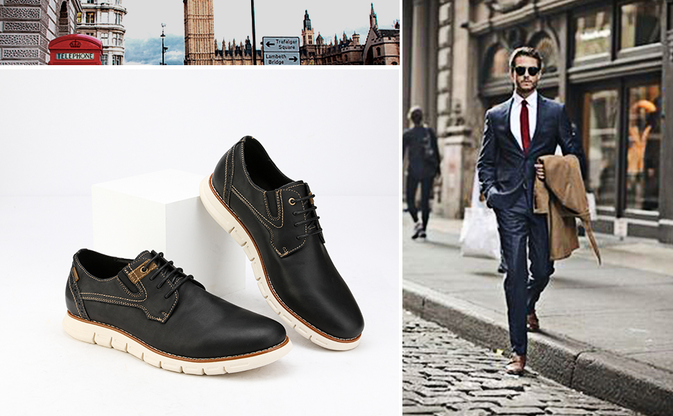 Oxford Dress Sneakers