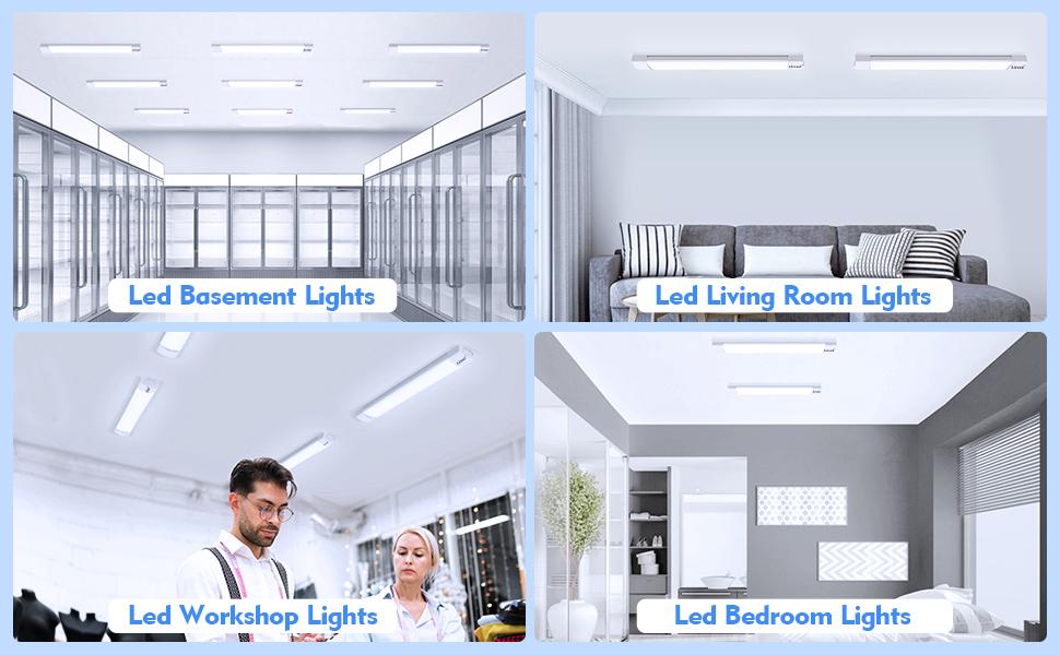 LED SHOP LIGHT FIXTURE